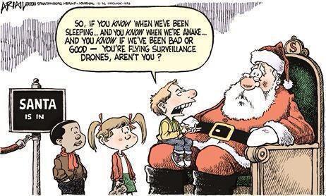 Santa Drone Humor