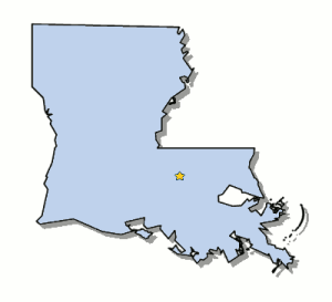 Map-Louisiana