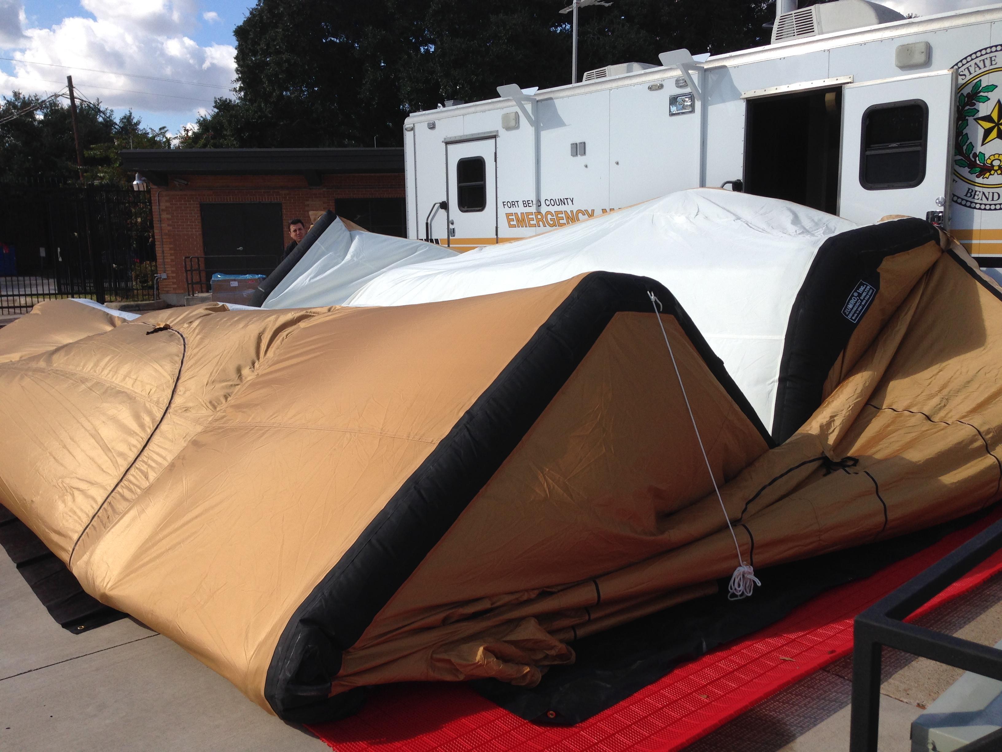Raising the Zumro Tent Raising the Zumro Tent & MVDR | Jeff Braunu0027s Emergency Management Blog